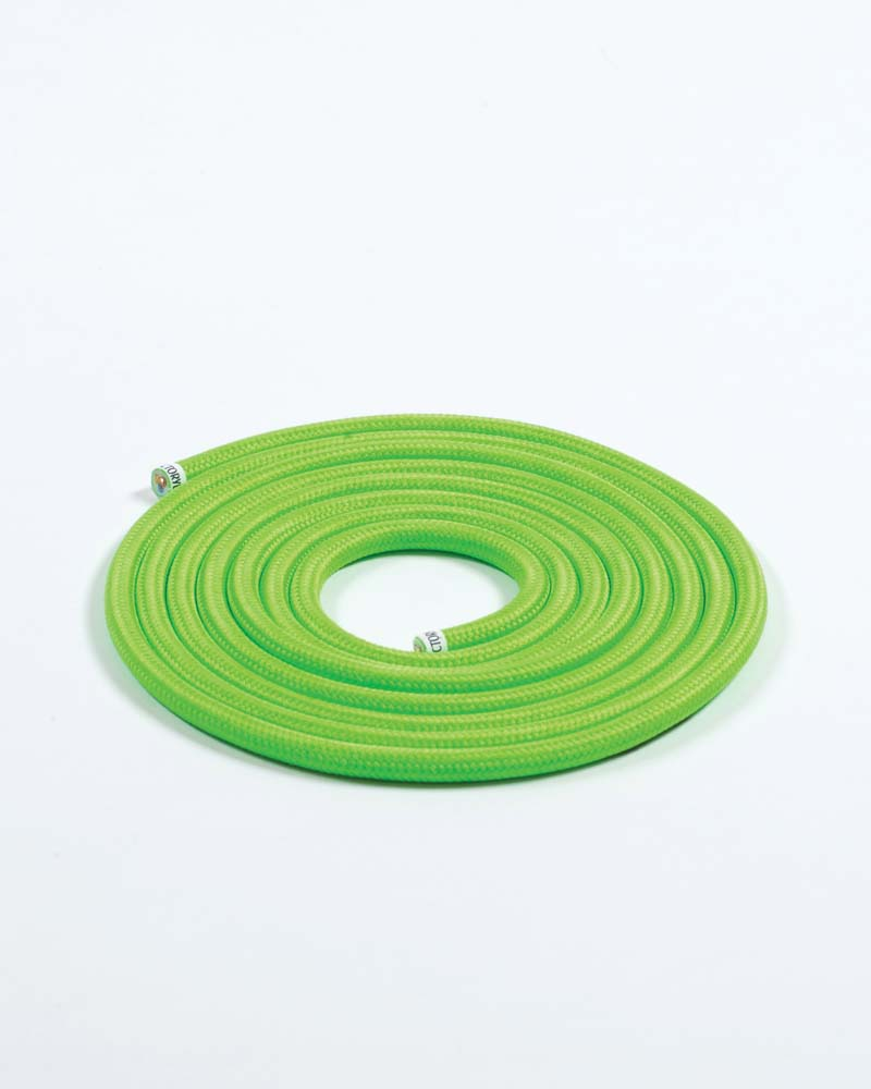 Fabric Cable Neon Green