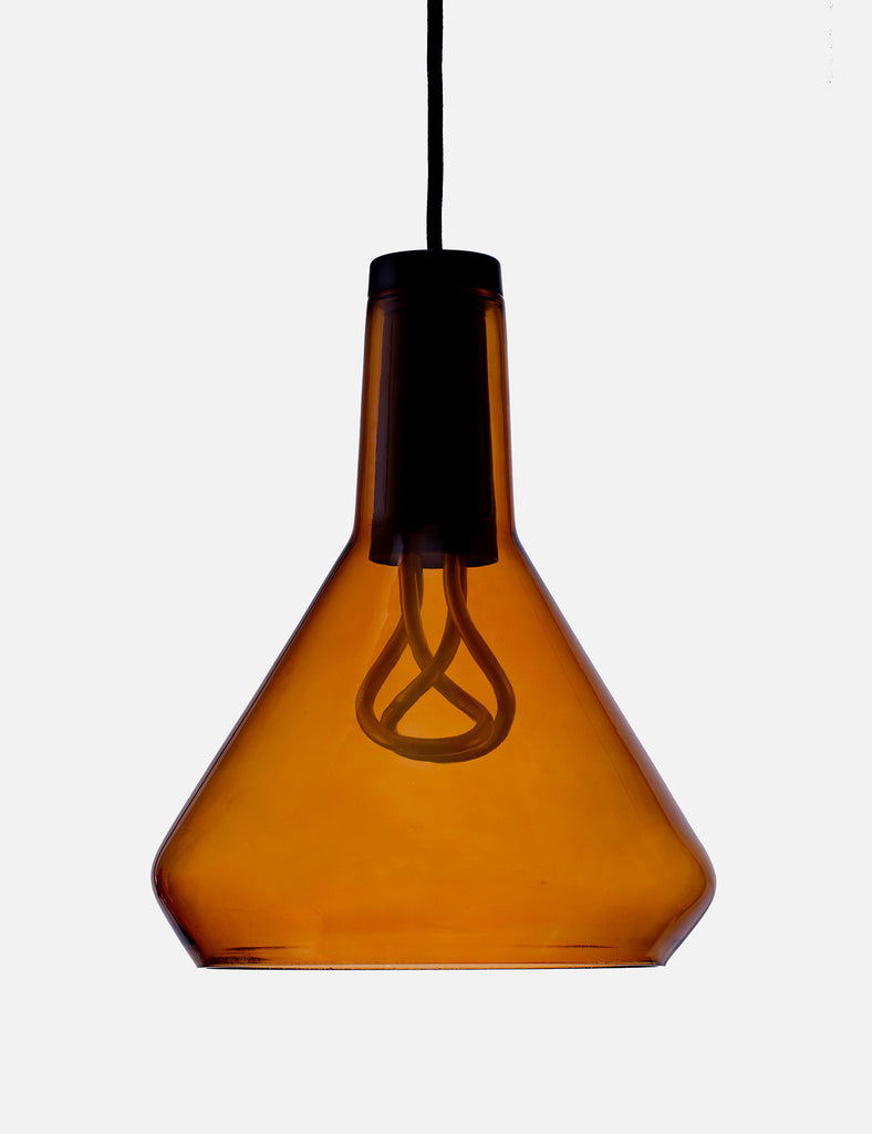 Drop Top Lamp Shade Set with Baby Plumen 001 Bulb