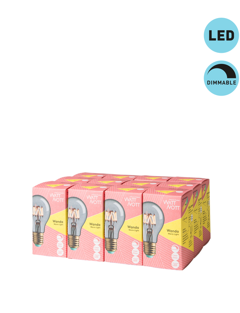 Whirly Wanda Dimmable LED Multipack - 12 Bulbs