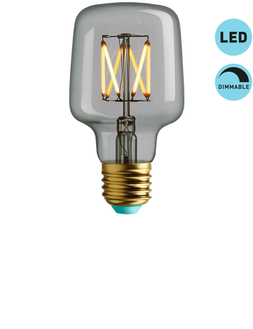 WILBUR - WARM WHITE LIGHT - DIMMABLE LED (CLEAR)