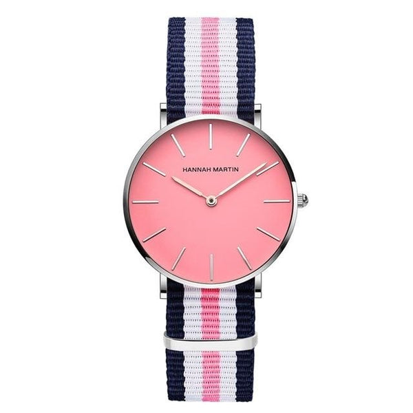 Montre Quartz Rose