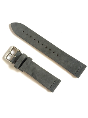Grey - Suede Leather Strap