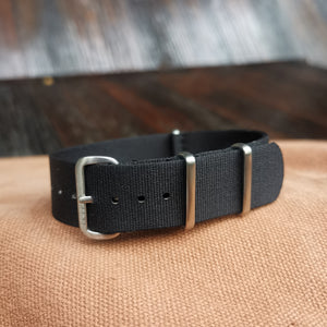 Al Capone Black 20mm - Mafia Strap