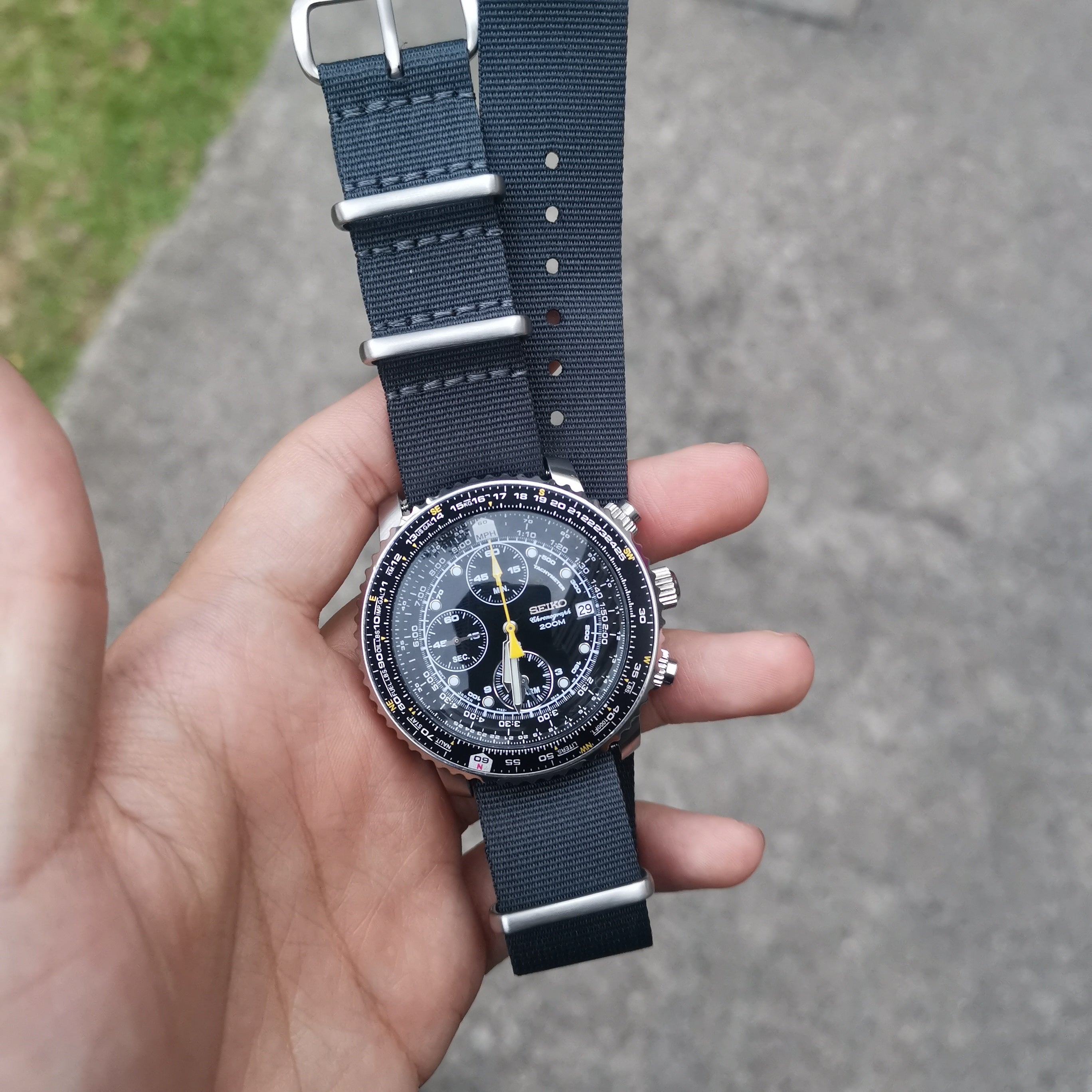 Admiralty Grey 20mm - Mafia Strap