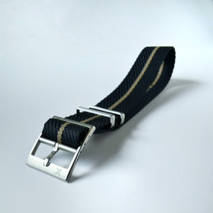Nautical with Beige stripes - Woven strap