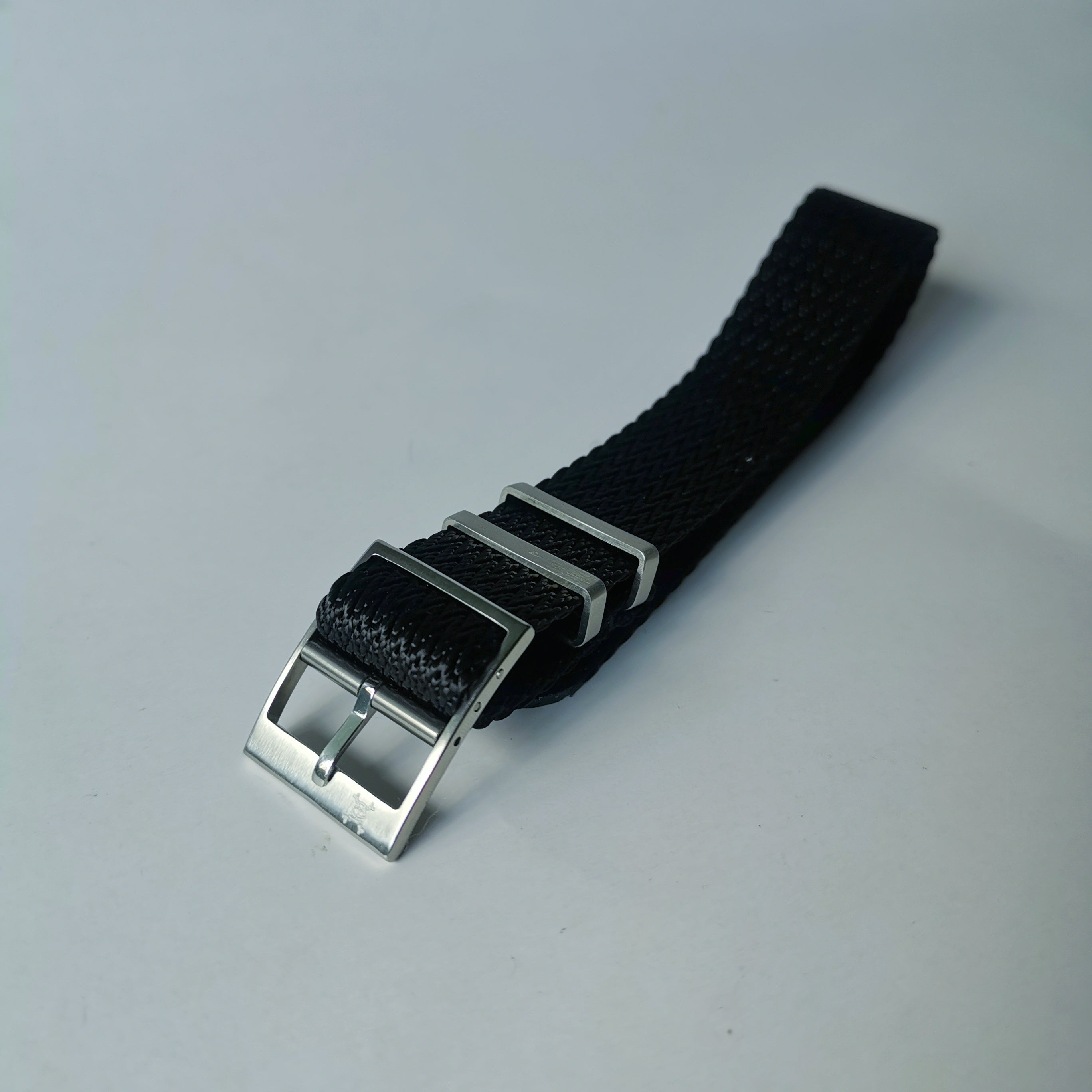 Black Zig-Zag Adjustment Strap