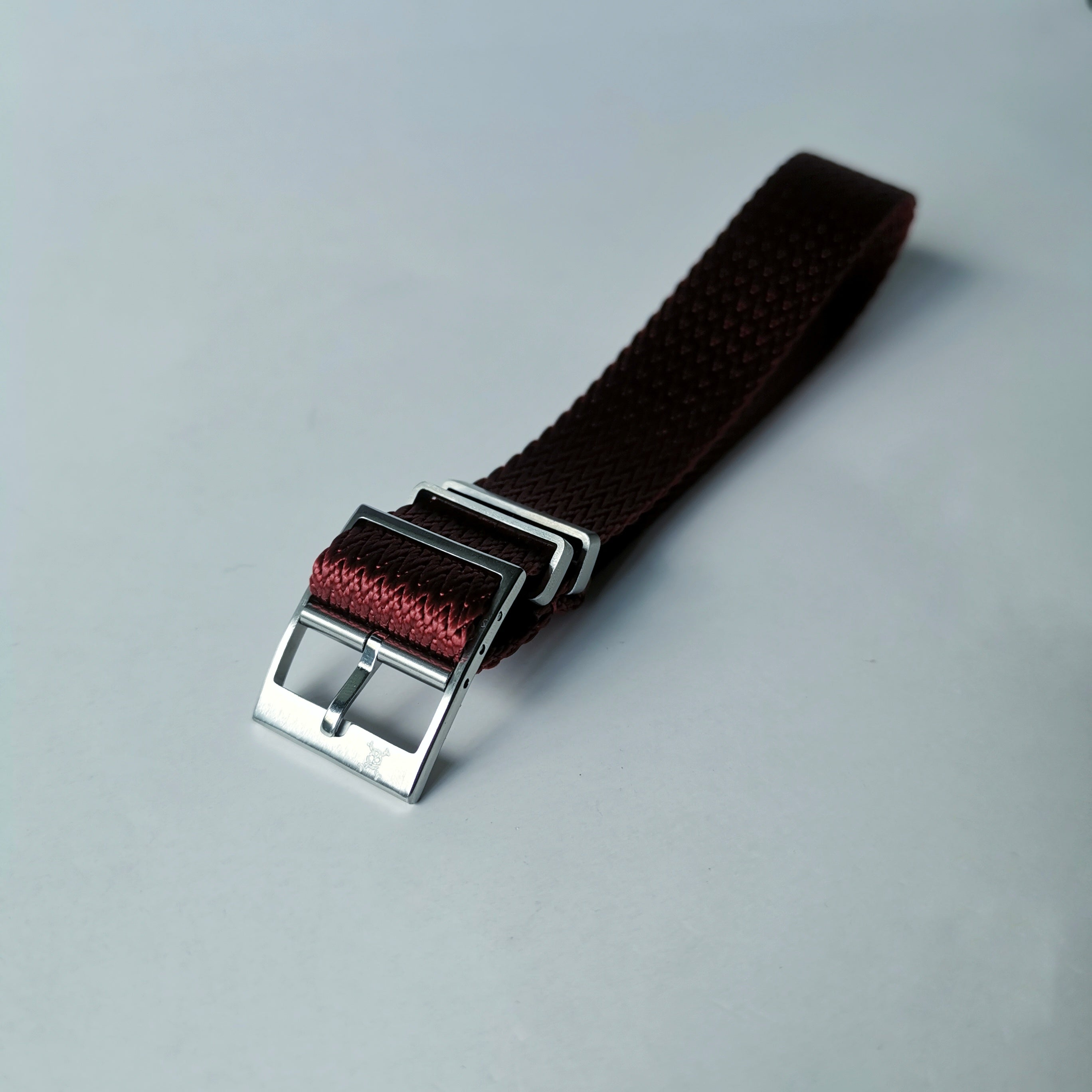 Crimson Zig-Zag Adjustment Strap