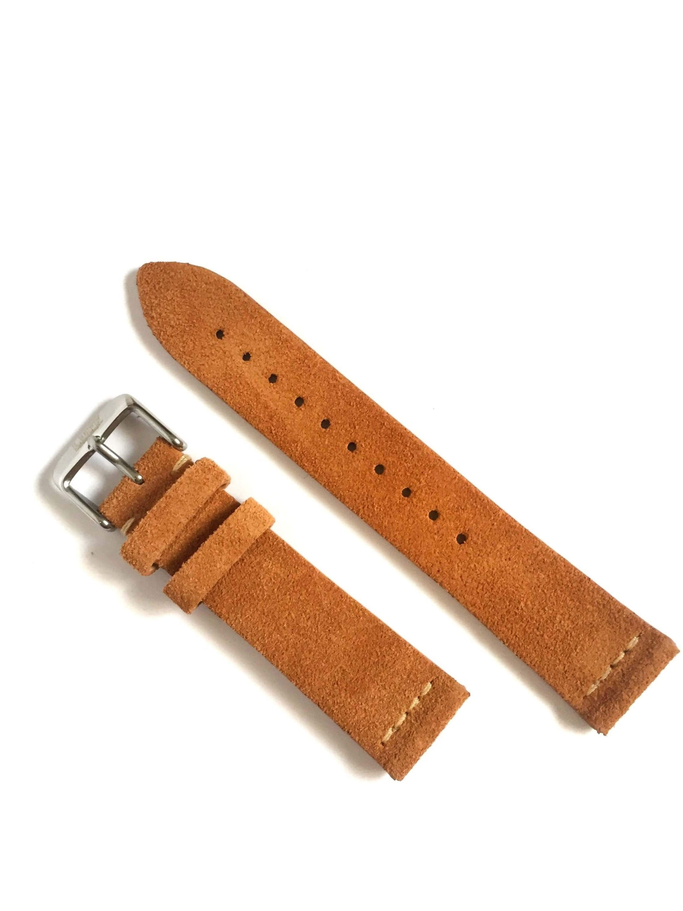 Tan - Suede Leather Strap