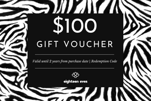 Women's golf clothing & accessories voucher for $100