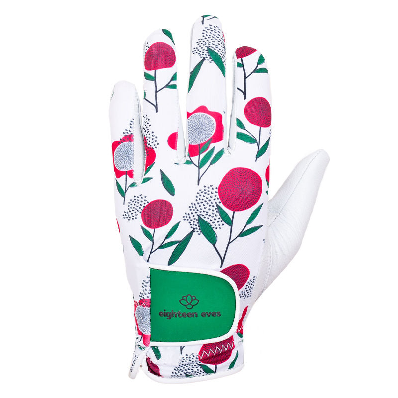 Women's Leather Golf Glove - Choose Love Pink - Eighteen Eves