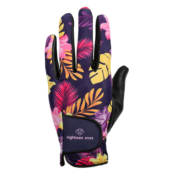 Women's Leather Golf Glove - Rose of Sharon