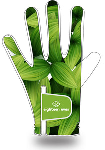 Women's Leather Golf Glove - Flourish - Eighteen Eves