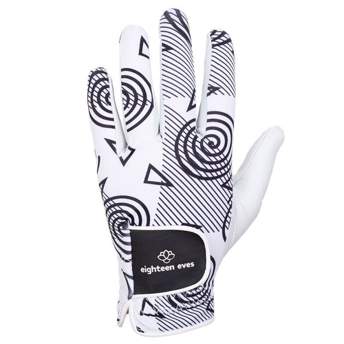 Women's Leather Golf Glove - Got me Hypnotised - Eighteen Eves