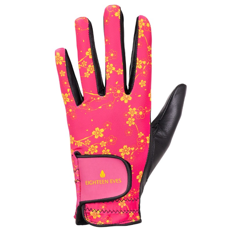 Women's Leather Golf Glove - Orient Express Pink
