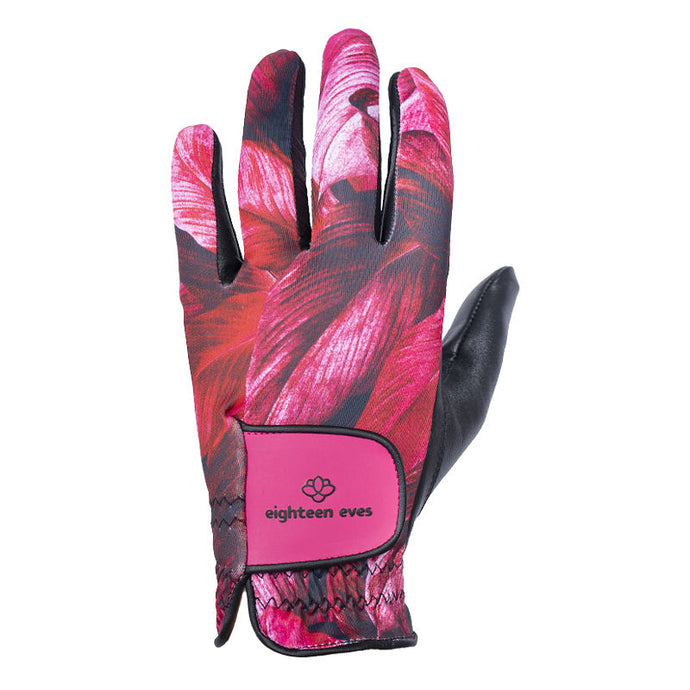 Women's Leather Golf Glove - Leafy Dayze - Eighteen Eves