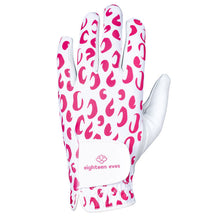 Load image into Gallery viewer, Women's Leather Golf Glove - The Pink Jaguar - Eighteen Eves