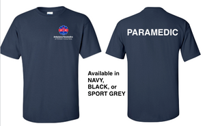 Men's Heavy Cotton T-Shirt Paramedic