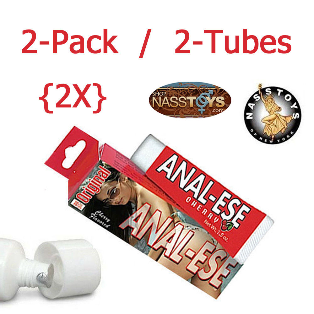 Anal-Ese 1.5oz Cherry 2-Pack