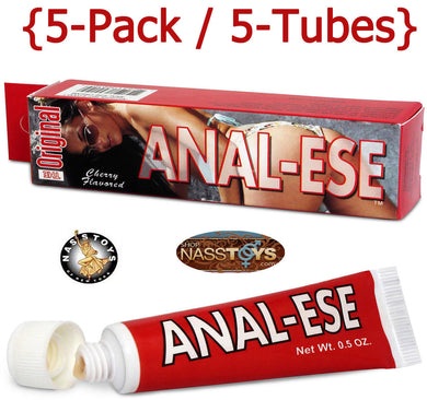 Anal-Ese .5oz Cherry 5-Pack