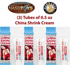 China Shrink Cream 3-Pack