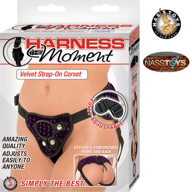 Strap-On Harness, The Moment, Purple