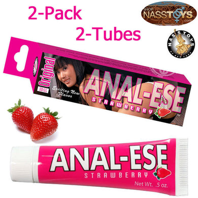 Anal-Ese 0.5oz Strawberry 2-Pack