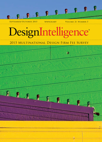 Multinational Design Firm Fee Survey, 2015