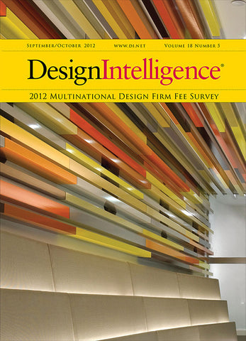 Multinational Design Firm Fee Survey, 2012