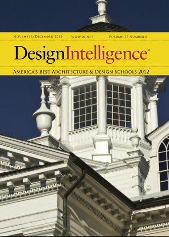 America's Best Architecture & Design Schools, 2012