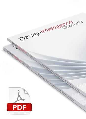 DesignIntelligence Quarterly Student Subscription