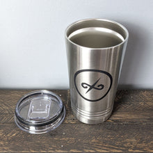 Load image into Gallery viewer, 16 oz Stainless Tumbler with Balanced Direction Jeremiah Craig Logo