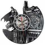 TLK ® Batman Cd Record Wall Clock