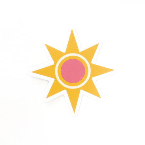 Vinyl Sunshine Sticker-FREE SHIPPING
