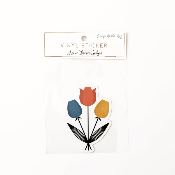 Vinyl Bouquet Sticker- FREE SHIPPING