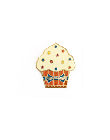 Orange Cupcake Hard Enamel Pin