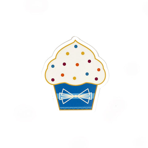 Vinyl Cupcake Sticker- FREE SHIPPING