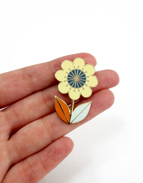 Spring Flower Hard Enamel Pin