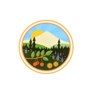Mount Hood Vinyl Sticker-FREE SHIPPING