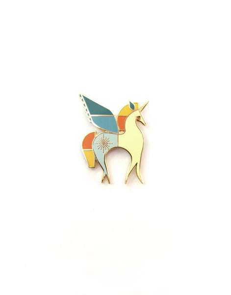 Unicorn Hard Enamel Pin