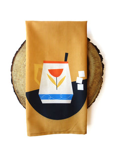 100% Premium Coffee Cup Tea Towel