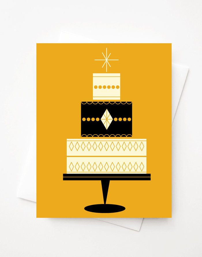 Celebration, Blank A2 greeting card with envelope