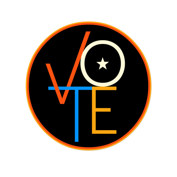 Vote Vinyl Sticker-FREE SHIPPING