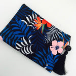 Blue Rose Clutch