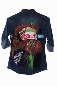 Hippie Lady Shirt