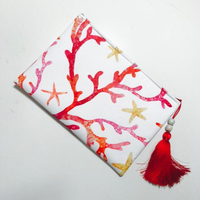Coral & Sea Star Style Clutch