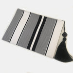 Black & White Stripes Style Clutch