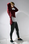 Knitwear Sweater Claret Red