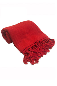 Peshtemal Beach Towel Red