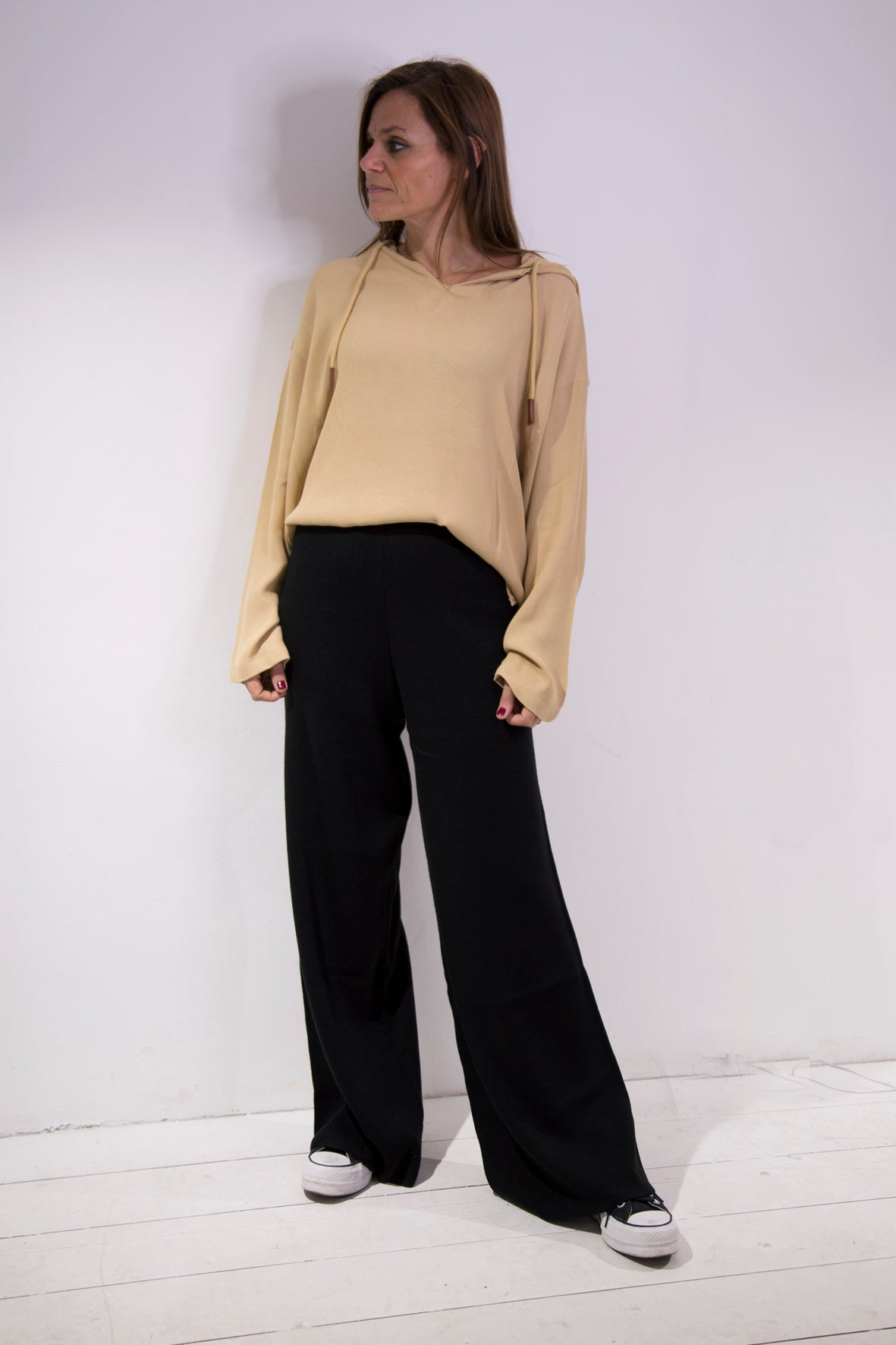 Knitwear Black Pants