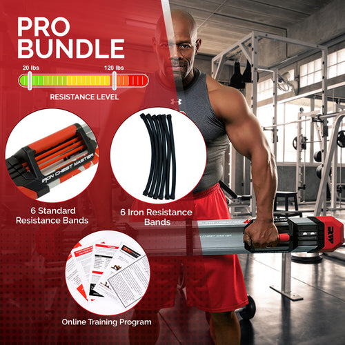 Iron Chest Master Fitness System - PRO Package